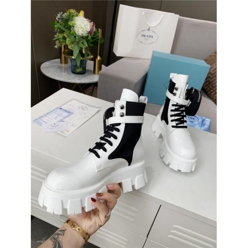 Replica Prada Boots For Women #807830 $108.00 USD for Wholesale