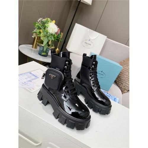 Prada Boots For Women #807831 $108.00, Wholesale Replica Prada Boots