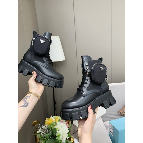 Prada Boots For Women #807832 $108.00, Wholesale Replica Prada Boots
