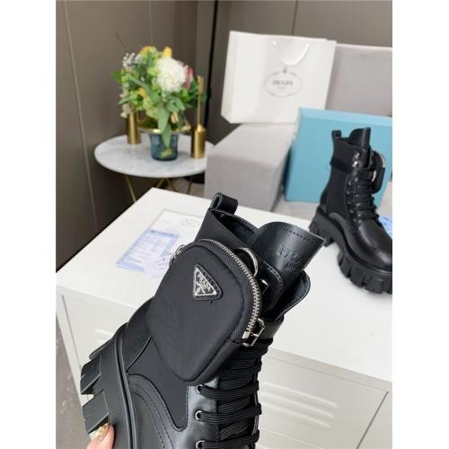 Replica Prada Boots For Women #807832 $108.00 USD for Wholesale