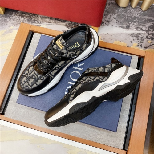 Replica Christian Dior Casual Shoes For Men #807846 $76.00 USD for Wholesale
