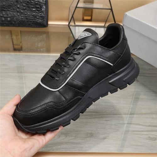 Replica Prada Casual Shoes For Men #807885 $88.00 USD for Wholesale