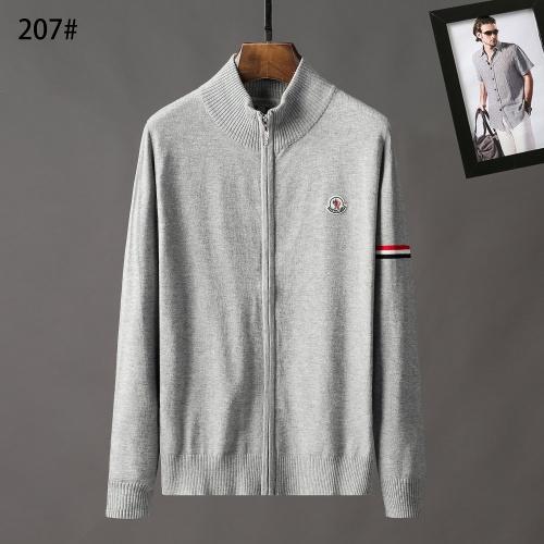 Moncler Sweaters Long Sleeved Zipper For Men #807945