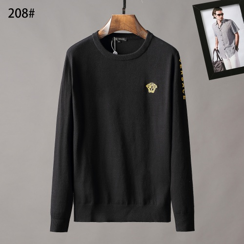 Versace Sweaters Long Sleeved O-Neck For Men #807948