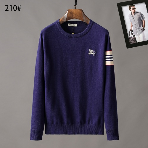 Burberry Sweaters Long Sleeved O-Neck For Men #807958
