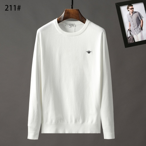 Christian Dior Sweaters Long Sleeved O-Neck For Men #807960