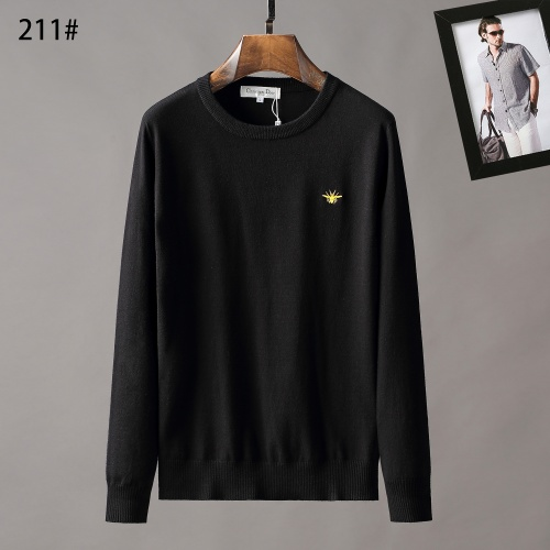 Christian Dior Sweaters Long Sleeved O-Neck For Men #807961