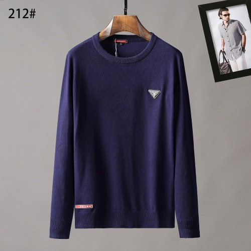 Prada Sweater Long Sleeved O-Neck For Men #807962