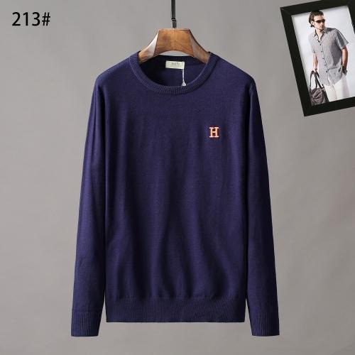 Hermes Sweaters Long Sleeved O-Neck For Men #807965
