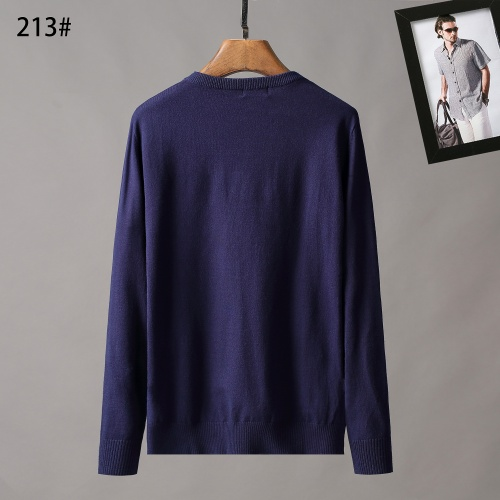 Replica Hermes Sweaters Long Sleeved O-Neck For Men #807965 $42.00 USD for Wholesale