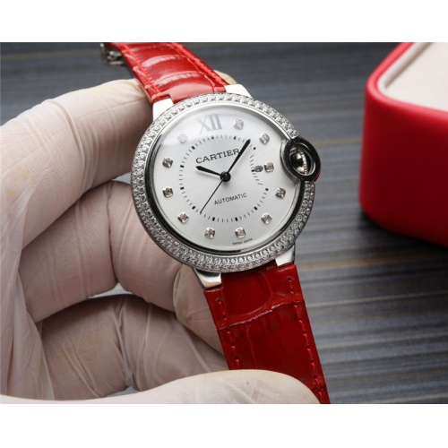 Cartier AAA Quality Watches For Women #807967 $235.00, Wholesale Replica Cartier AAA Quality Watches