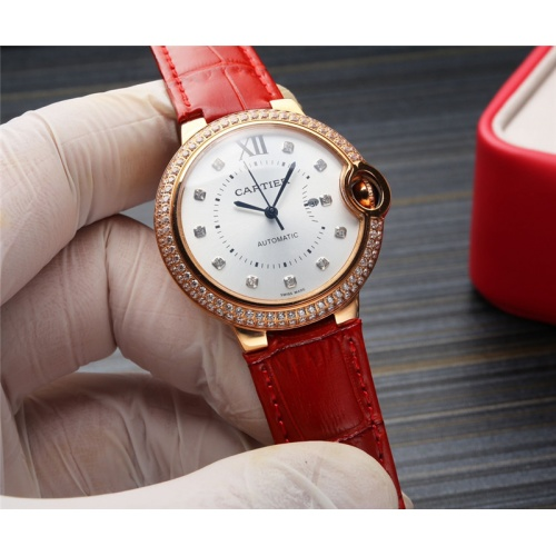 Cartier AAA Quality Watches For Women #807969