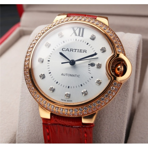 Replica Cartier AAA Quality Watches For Women #807969 $235.00 USD for Wholesale