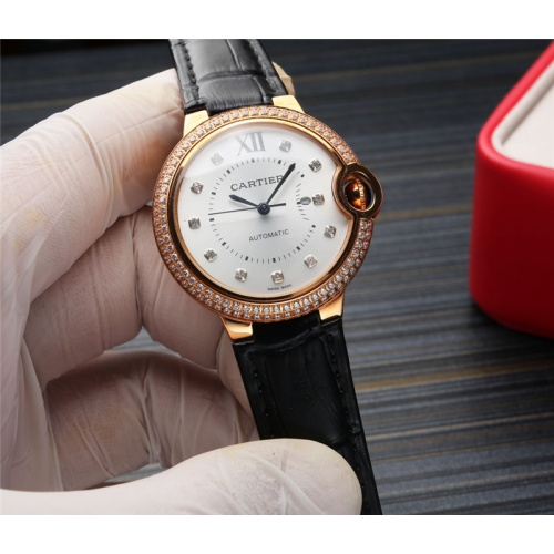 Cartier AAA Quality Watches For Women #807971 $235.00, Wholesale Replica Cartier AAA Quality Watches
