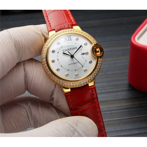 Cartier AAA Quality Watches For Women #807972