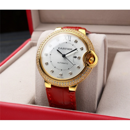 Replica Cartier AAA Quality Watches For Women #807972 $235.00 USD for Wholesale