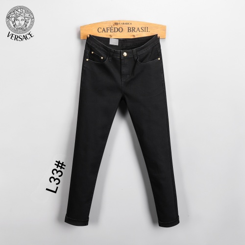 Replica Versace Jeans Trousers For Men #807986 $45.00 USD for Wholesale