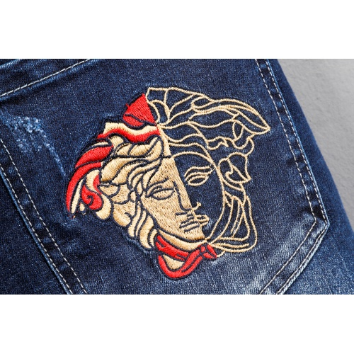 Replica Versace Jeans Trousers For Men #807987 $45.00 USD for Wholesale