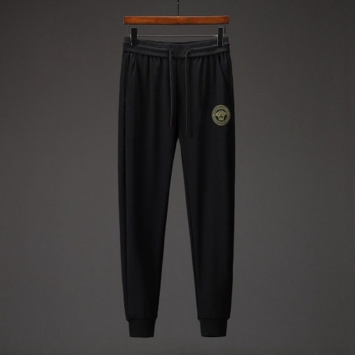 Replica Versace Tracksuits Long Sleeved O-Neck For Men #808034 $76.00 USD for Wholesale