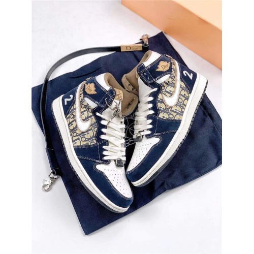 Christian Dior High Tops Shoes For Men #808076