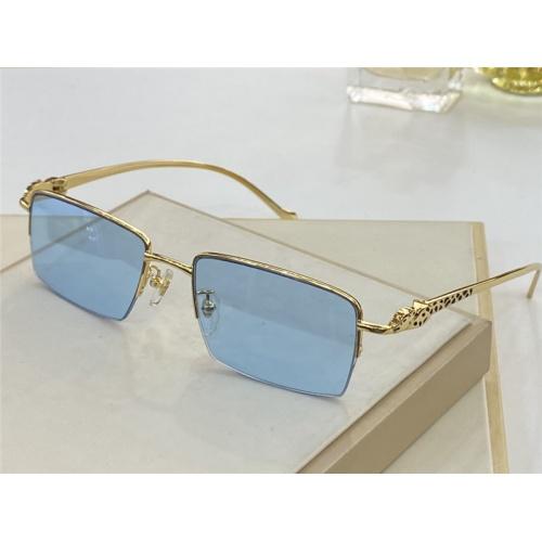 Cartier AAA Quality Sunglasses #808090 $56.00 USD, Wholesale Replica Cartier Super AAA Sunglasses