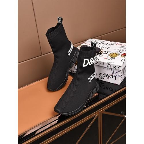 Dolce & Gabbana D&G Boots For Men #808122
