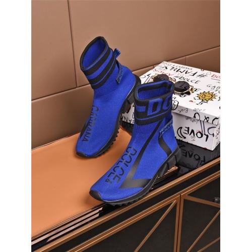 Dolce & Gabbana D&G Boots For Men #808143