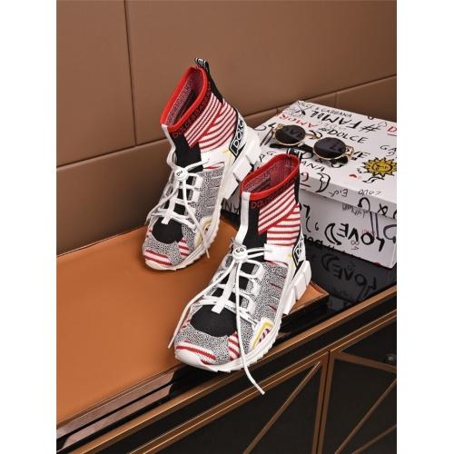 Dolce & Gabbana D&G Boots For Men #808145