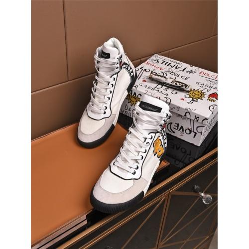 Dolce & Gabbana D&G High Top Shoes For Men #808163