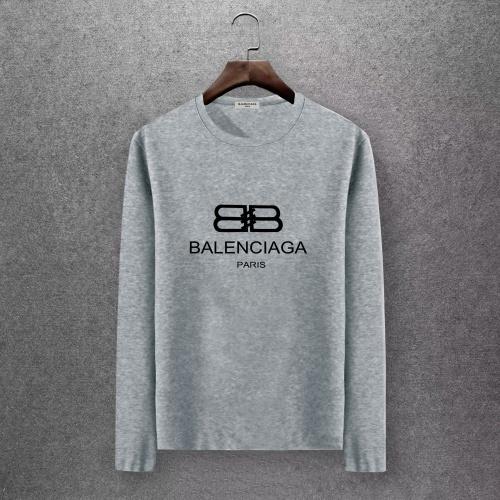 Balenciaga T-Shirts Long Sleeved O-Neck For Men #808272