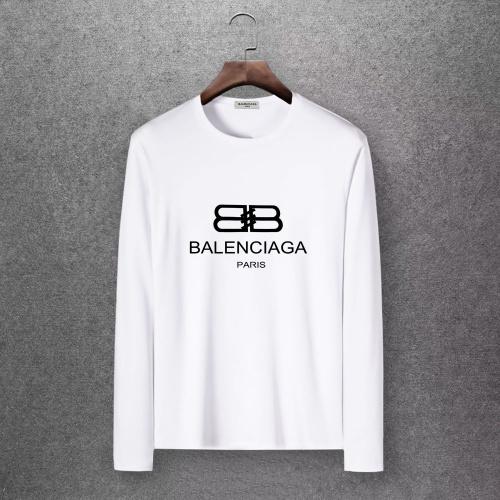 Balenciaga T-Shirts Long Sleeved O-Neck For Men #808273