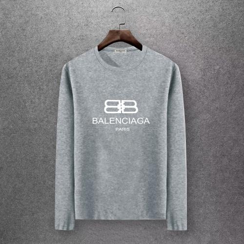Balenciaga T-Shirts Long Sleeved O-Neck For Men #808274