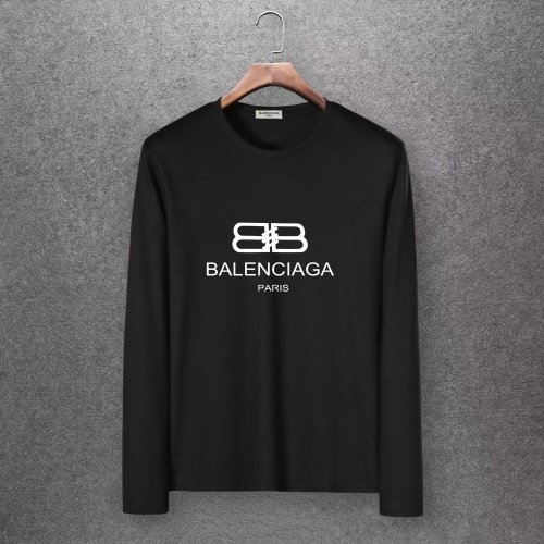 Balenciaga T-Shirts Long Sleeved O-Neck For Men #808275