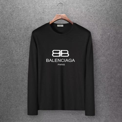 Balenciaga T-Shirts Long Sleeved O-Neck For Men #808275 $27.00 USD, Wholesale Replica Balenciaga T-Shirts