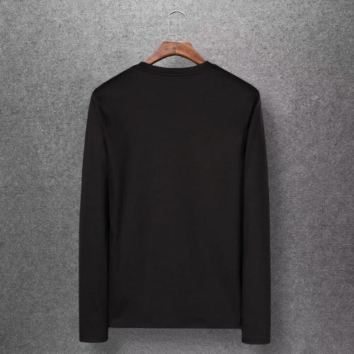 Replica Balenciaga T-Shirts Long Sleeved O-Neck For Men #808275 $27.00 USD for Wholesale