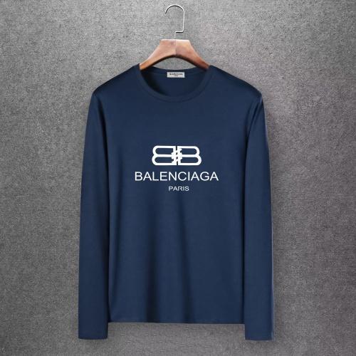 Balenciaga T-Shirts Long Sleeved O-Neck For Men #808276