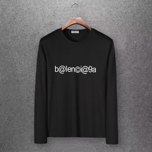 Balenciaga T-Shirts Long Sleeved O-Neck For Men #808278