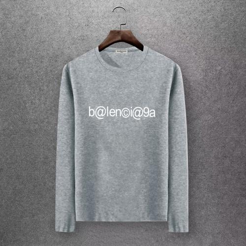Balenciaga T-Shirts Long Sleeved O-Neck For Men #808281
