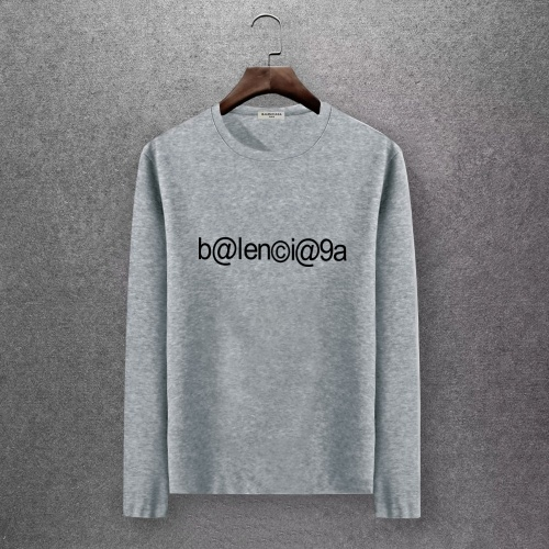 Balenciaga T-Shirts Long Sleeved O-Neck For Men #808283