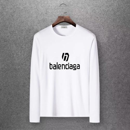 Balenciaga T-Shirts Long Sleeved O-Neck For Men #808285