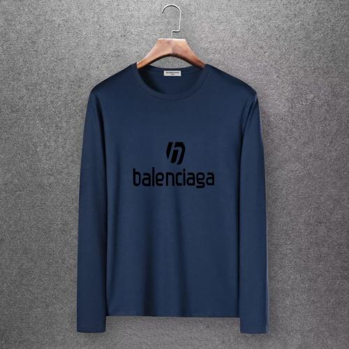 Balenciaga T-Shirts Long Sleeved O-Neck For Men #808287