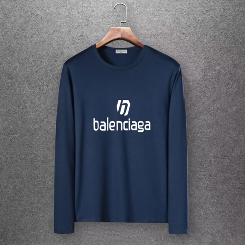 Balenciaga T-Shirts Long Sleeved O-Neck For Men #808288