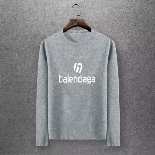 Balenciaga T-Shirts Long Sleeved O-Neck For Men #808290