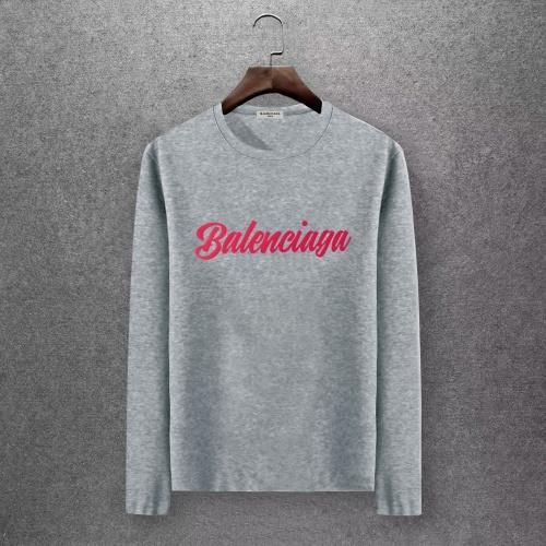 Balenciaga T-Shirts Long Sleeved O-Neck For Men #808291
