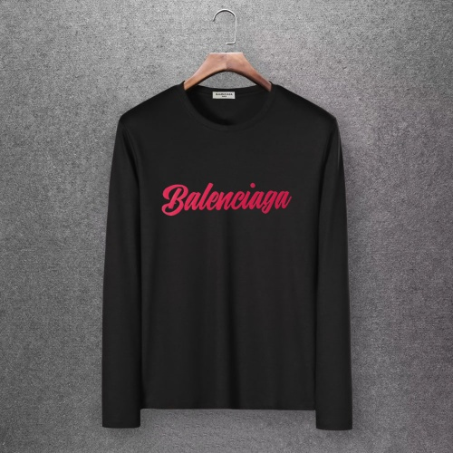 Balenciaga T-Shirts Long Sleeved O-Neck For Men #808292 $27.00, Wholesale Replica Balenciaga T-Shirts