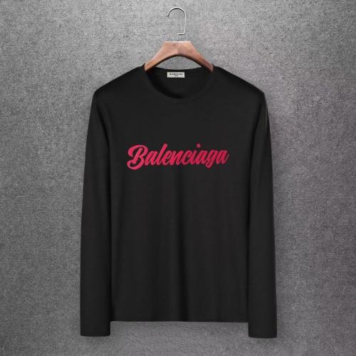Balenciaga T-Shirts Long Sleeved O-Neck For Men #808292