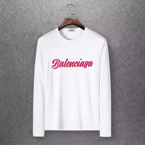 Balenciaga T-Shirts Long Sleeved O-Neck For Men #808293