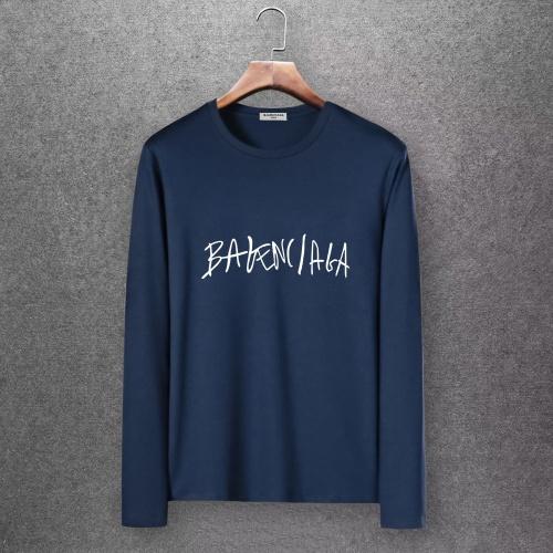 Balenciaga T-Shirts Long Sleeved O-Neck For Men #808299