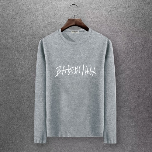 Balenciaga T-Shirts Long Sleeved O-Neck For Men #808301