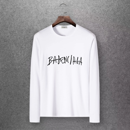 Balenciaga T-Shirts Long Sleeved O-Neck For Men #808302